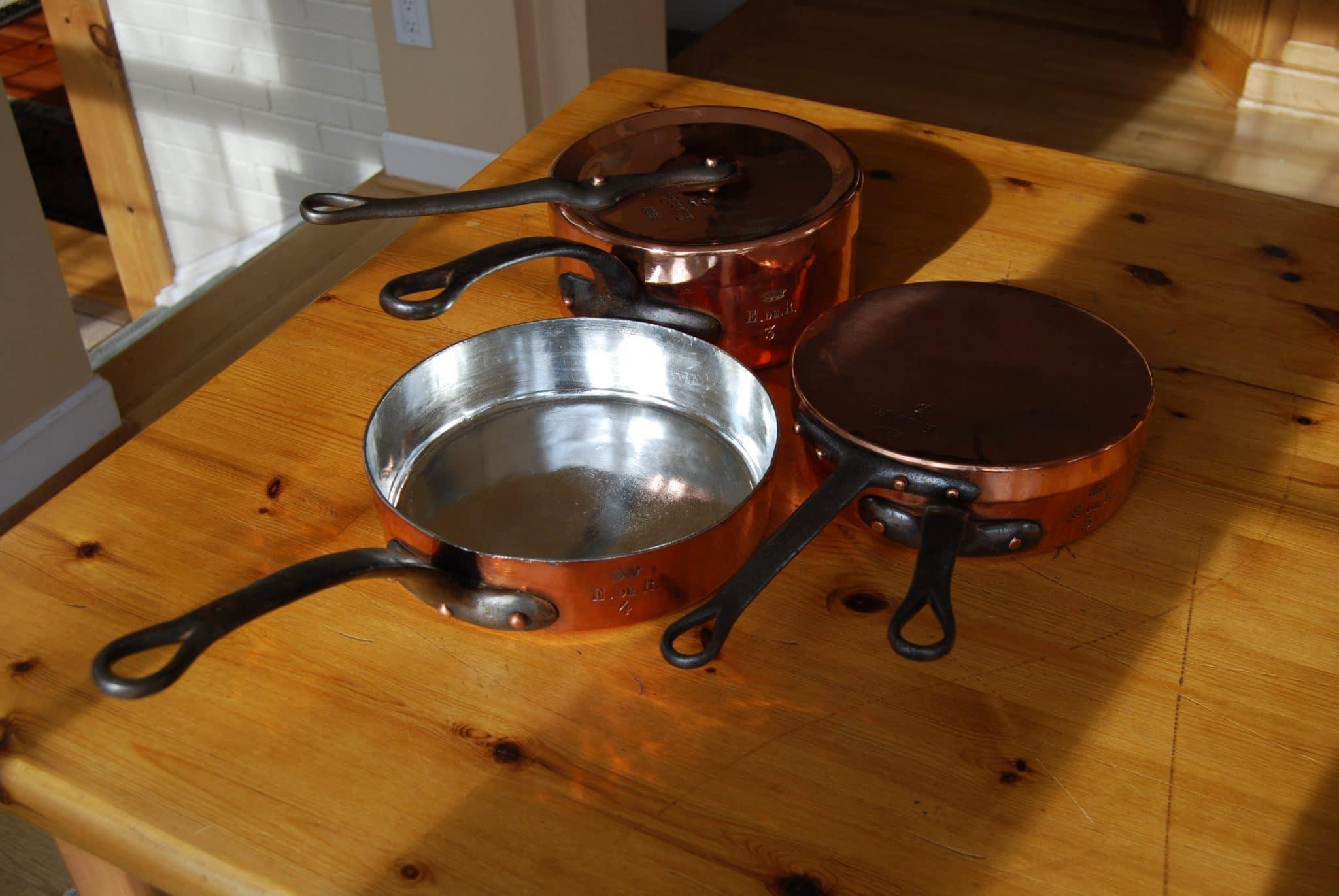 "Trio of pans ""Edmond James de Rothschild"""