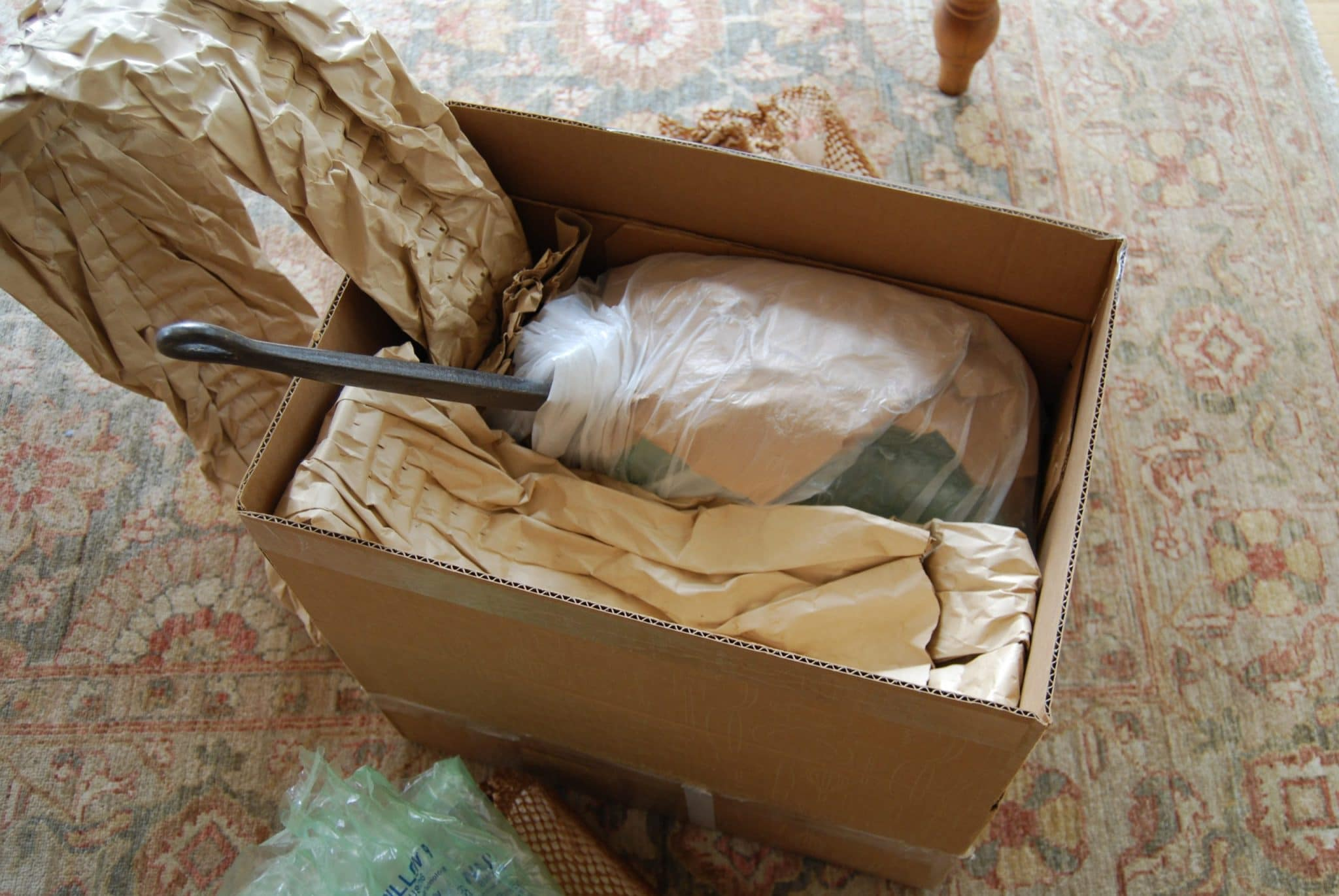 Unpacking a well-packed pan