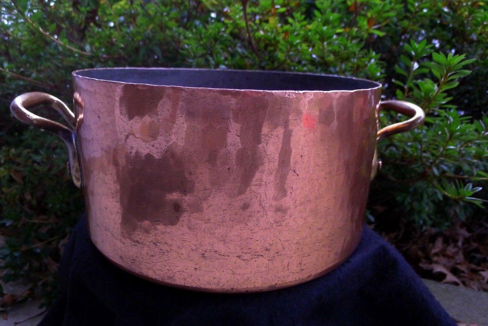 """30cm likely Dehillerin stewpot """"W"""""""