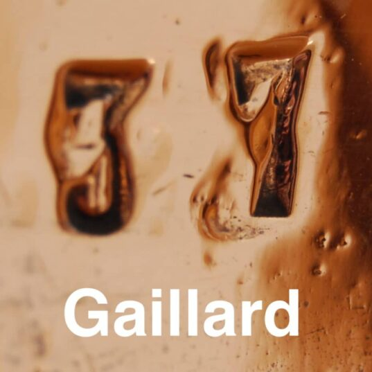 Using typefaces to identify vintage copper