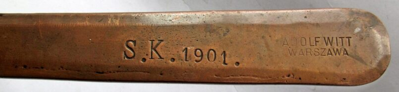 "20cm Adolf Witt saucepan ""1896"""