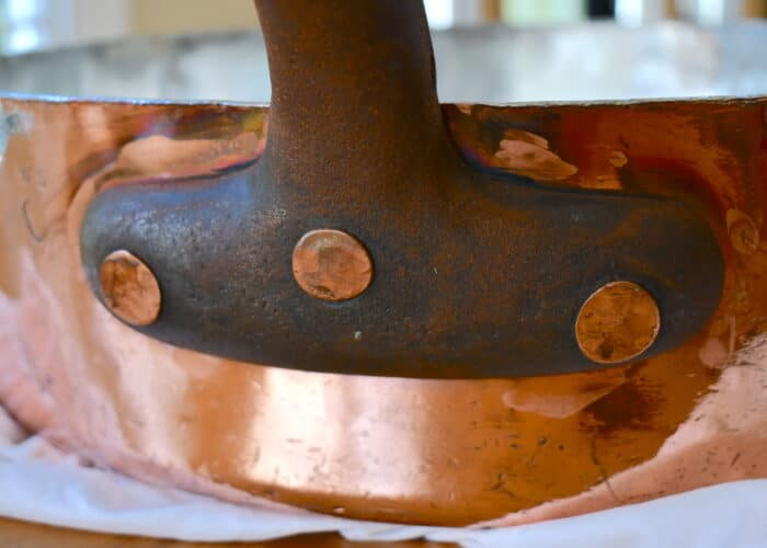Maintenance: Rusty iron handles