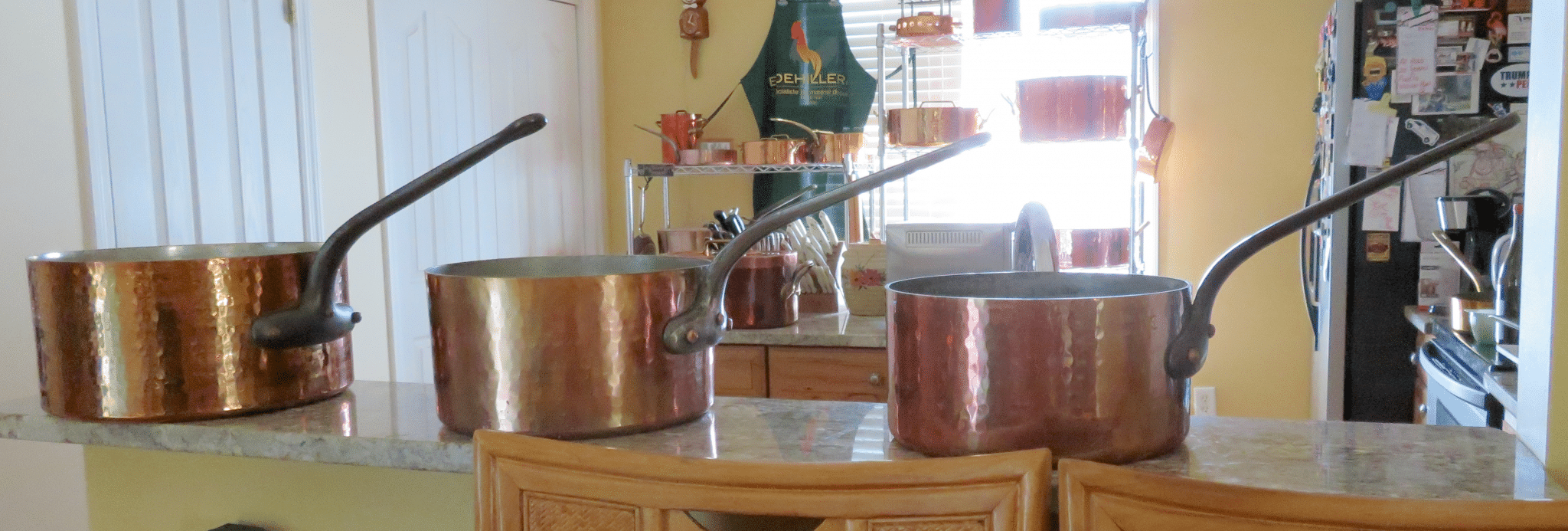 Stephen's batterie de cuisine