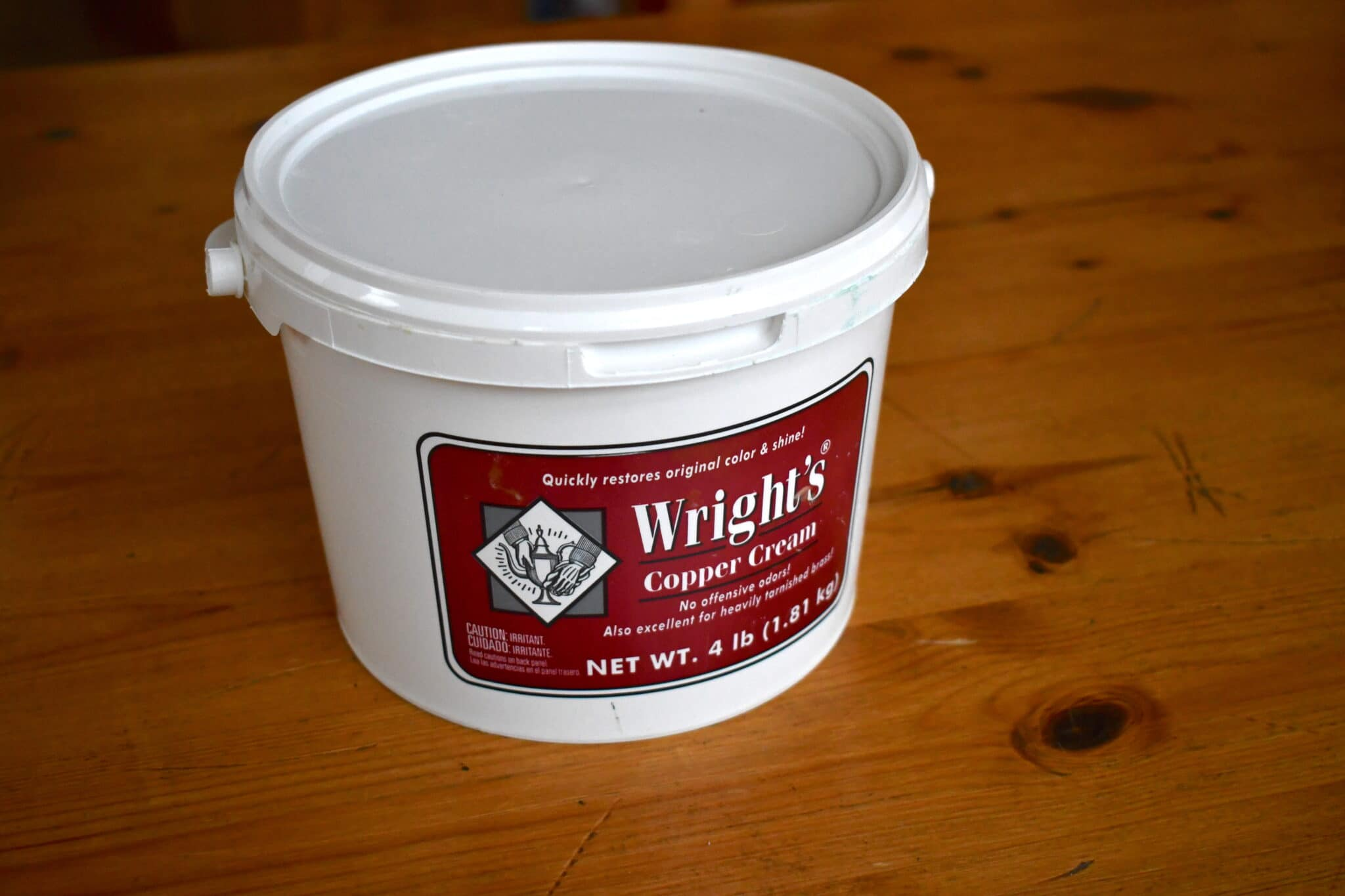 Stuff I use: Wright's copper cleaner
