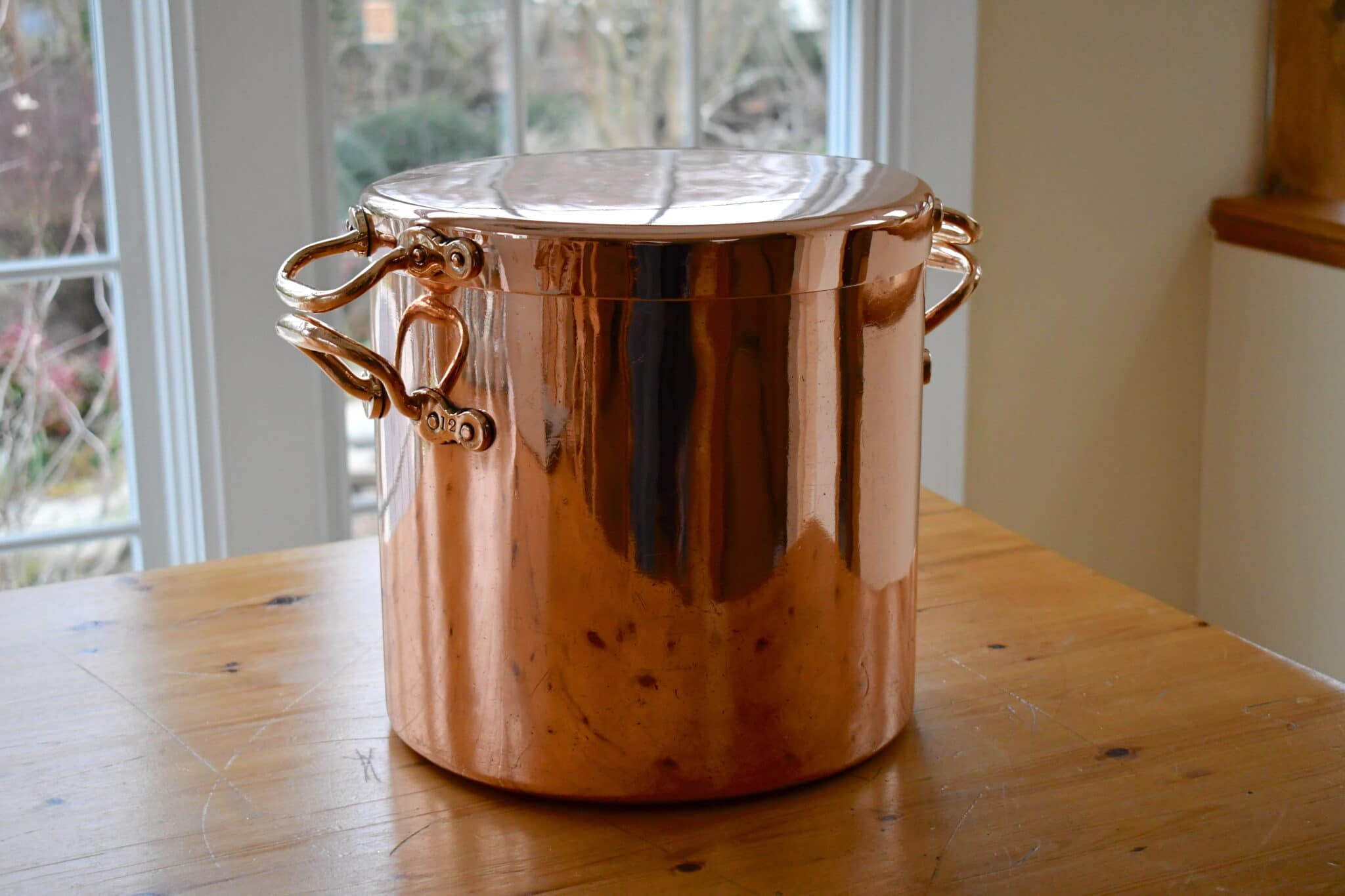 How it was made: English stockpot
