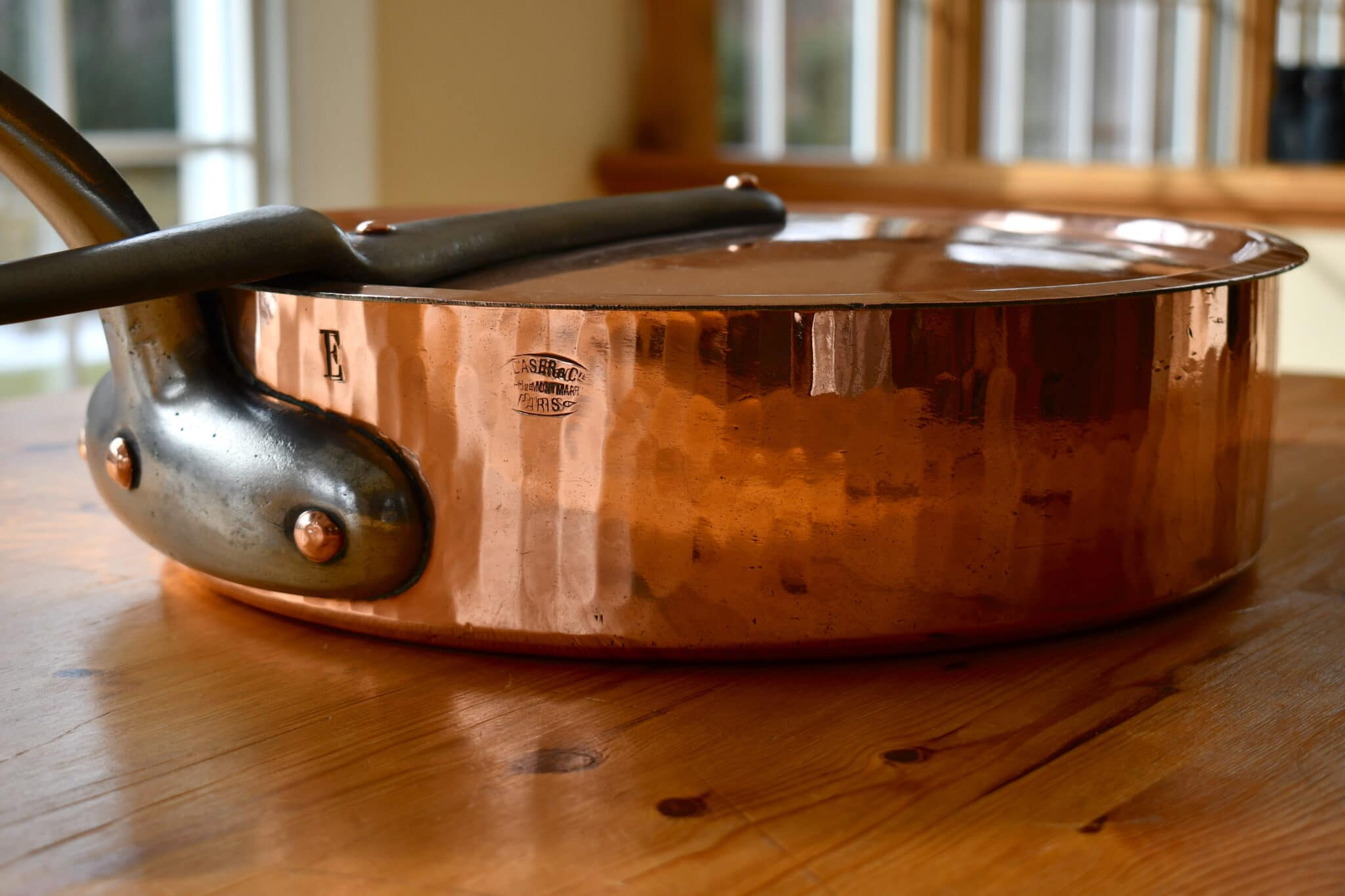 34cm sauté with fitted lid for Blaser et Cie