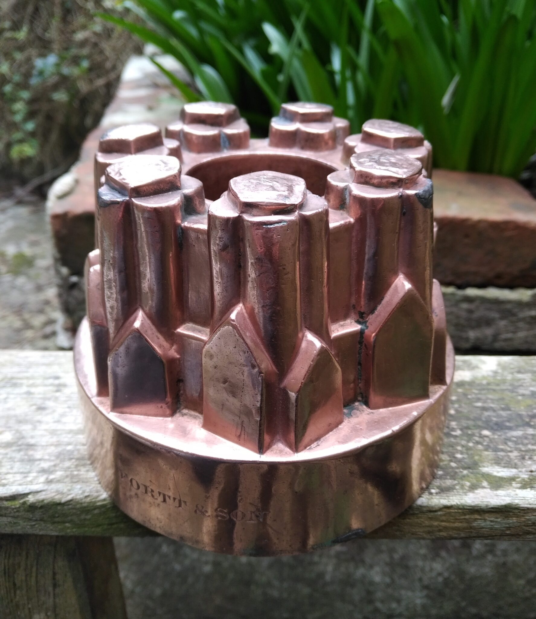 Guest post: Fortt & Sons copper jelly mould